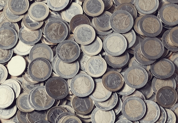 Euro coins Free Photo