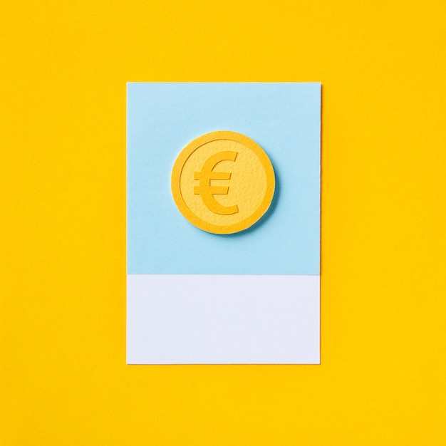 European euro currency money symbol Free Photo