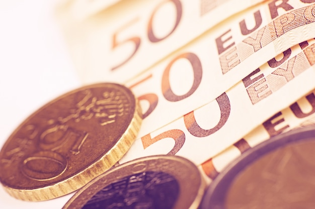 European euro currency Free Photo