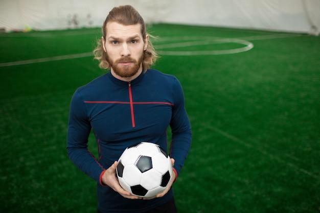 European football trainer or coach Free Photo