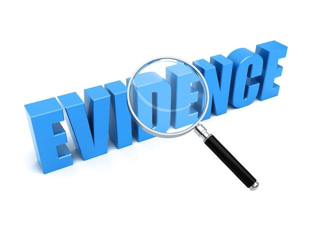 Evidence search Premium Photo