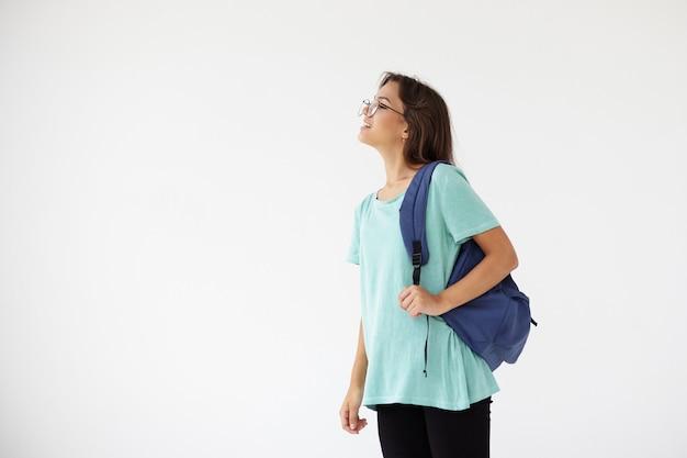 포즈 표현 젊은 여자 무료 사진