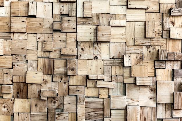 Внешняя деревянная стена Premium Фотографии