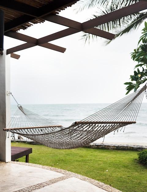 Exteriors of a luxury resort Free Photo