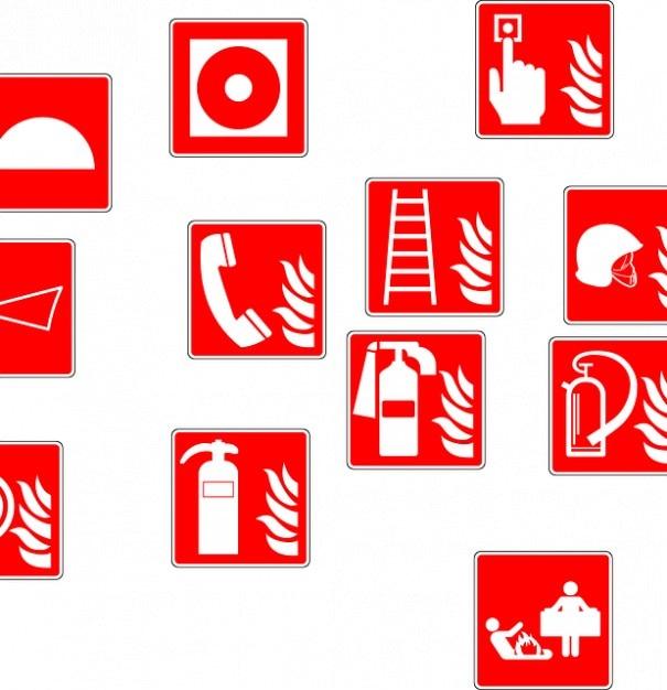extinguisher fire drencher symbols photo free download