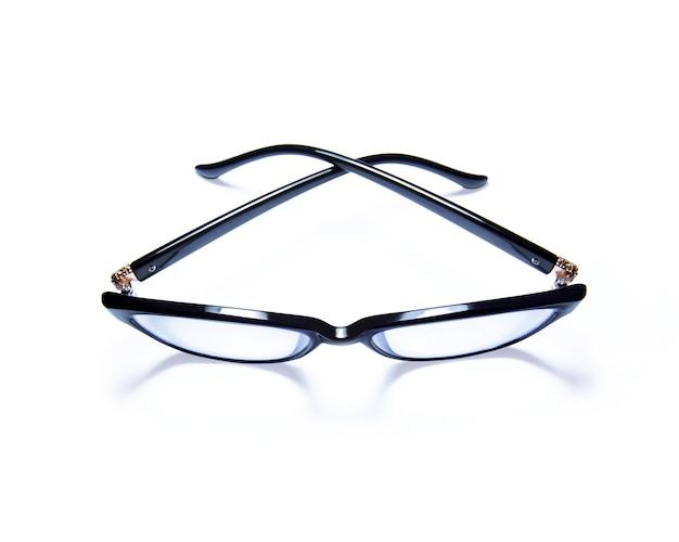 Eyeglasses Isolated On White Background Photo Premium Download