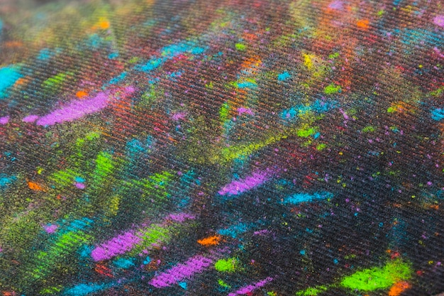 Fabric in multicolored paint Free Photo