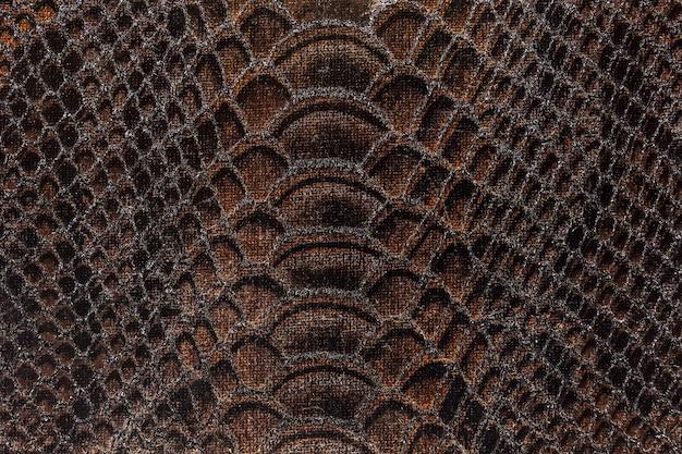 Текстура ткани коричневого цвета Premium Фотографии