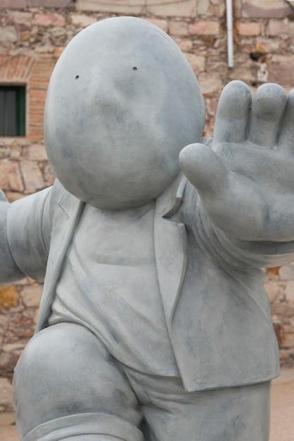 クローズアップ、彫刻、fabrica la aurora、サンミゲルデアジェンデ、グアナフアト、メキシコ Premium写真