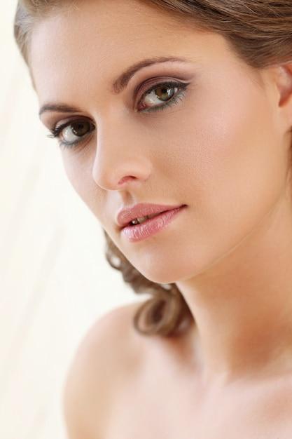 Face close-up Free Photo