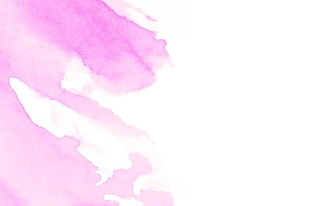 faint pink color on white background photo