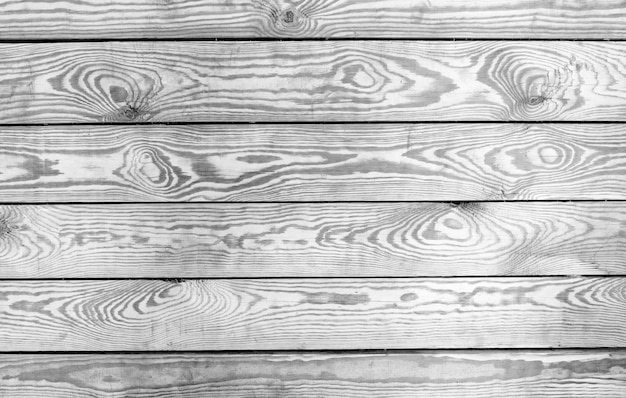 Fall old table top view. wooden planks background, black white texture board. Premium Photo