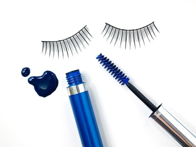 Тушь для ресниц и макияж кисти Premium Фотографии