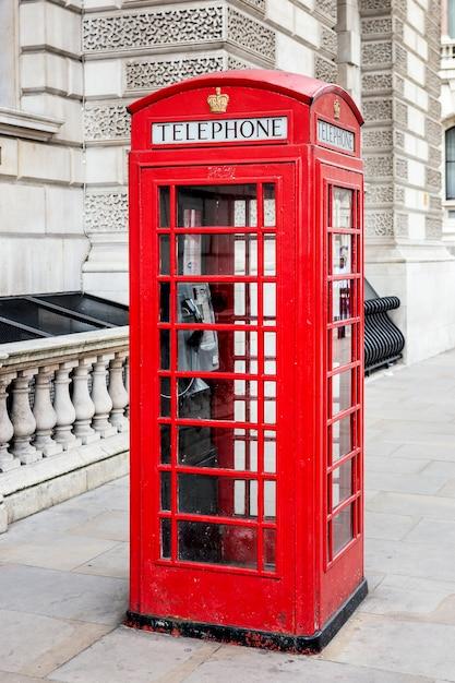 Famosa cabina telefonica rossa, londra. elaborazione fotografica speciale. Foto Gratuite