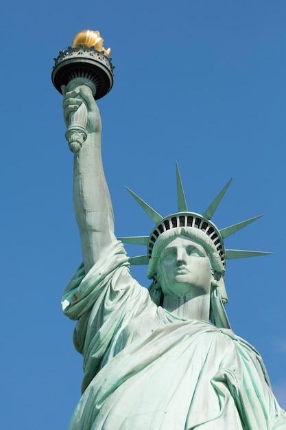 Знаменитая статуя свободы, нью-йорк. Бесплатные Фотографии
