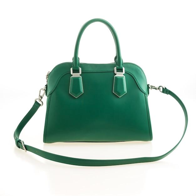 Fashion leather handbag case handle Free Photo