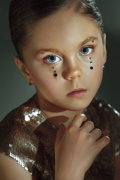 Free Photo | The fashion portrait of young beautiful