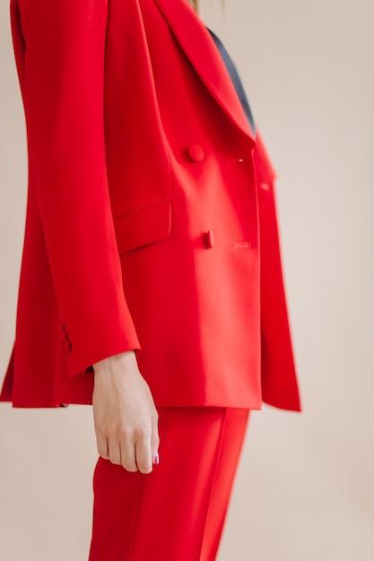 Fashion portrait of young elegant woman Free Photo