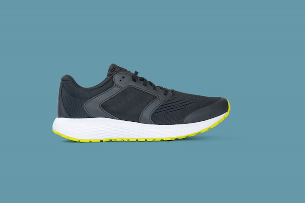 Fashion running sneaker shoes isolated Premium Photo