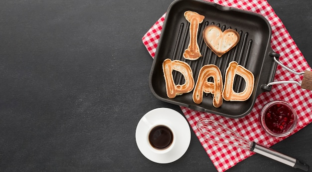 День отца с едой Бесплатные Фотографии