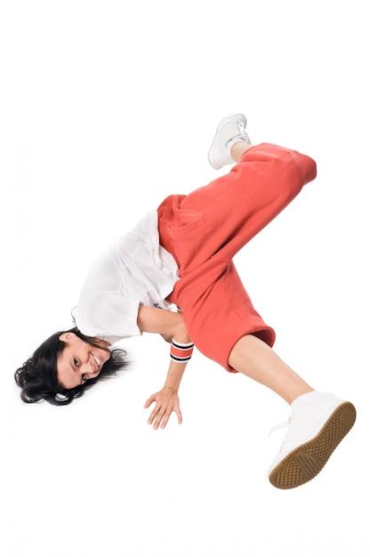Female hip-hop dancer performing Free Photo