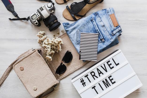 Forskelligt rejsetilbehør