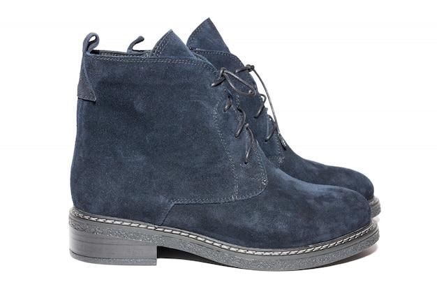 Female winter suede shoes Premium Photo