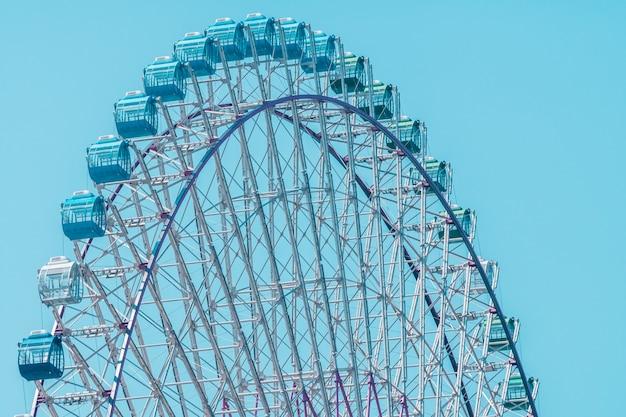 Ferris wheel in amusement park Free Photo
