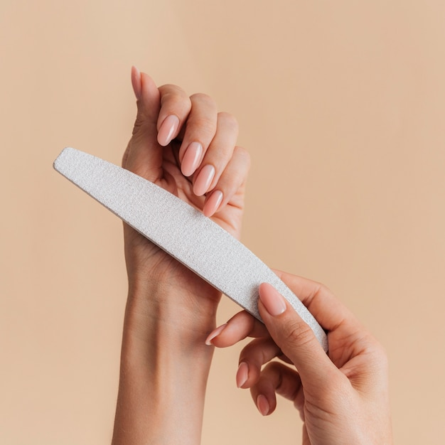 File per una bella manicure sana Foto Gratuite