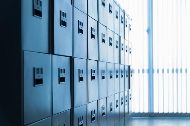 Filing cabinet at office Premium Photo