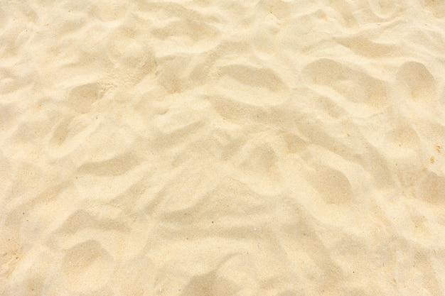 Fine beach sand in the summer sun Premium Photo