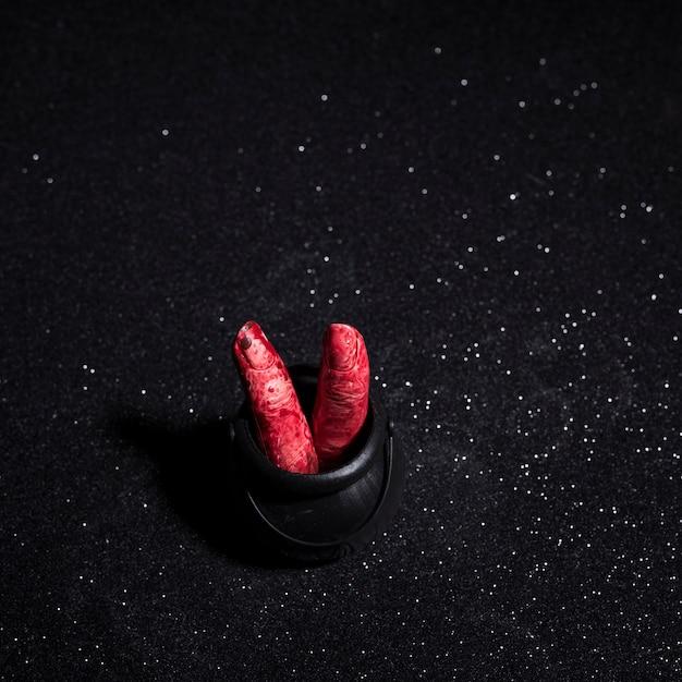 Пальцы с кровью Бесплатные Фотографии