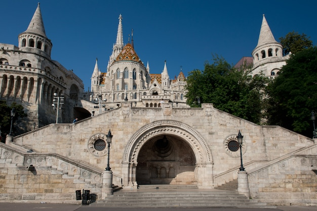 The fisherman's bastion Premium Photo