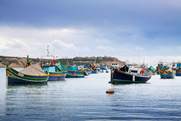 Fishing boats Free Photo