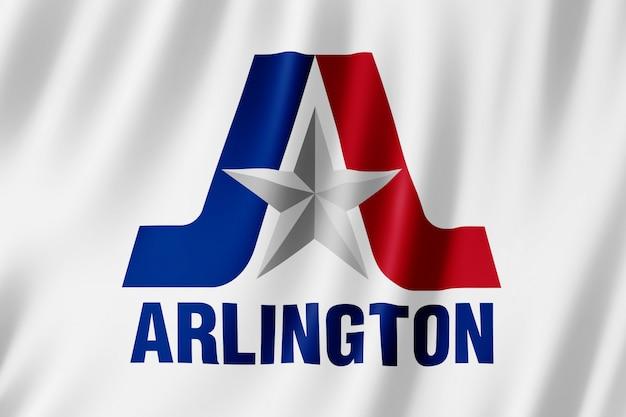 Flag of arlington city, texas (us) Premium Photo