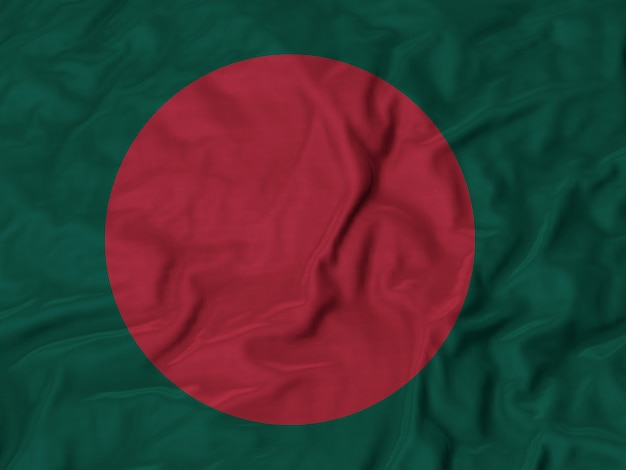 Flag of bangladesh Premium Photo