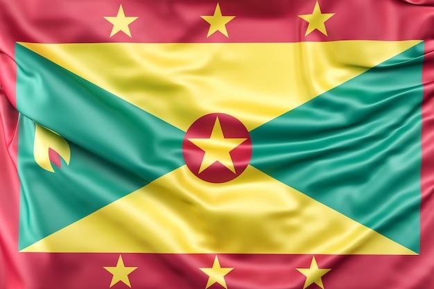 Flag of grenada Free Photo