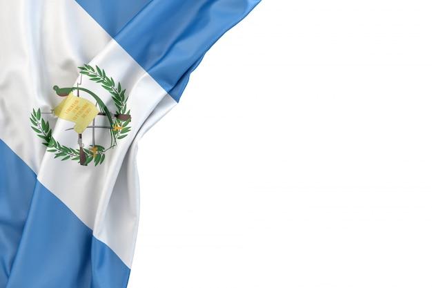 Flag of guatemala Premium Photo