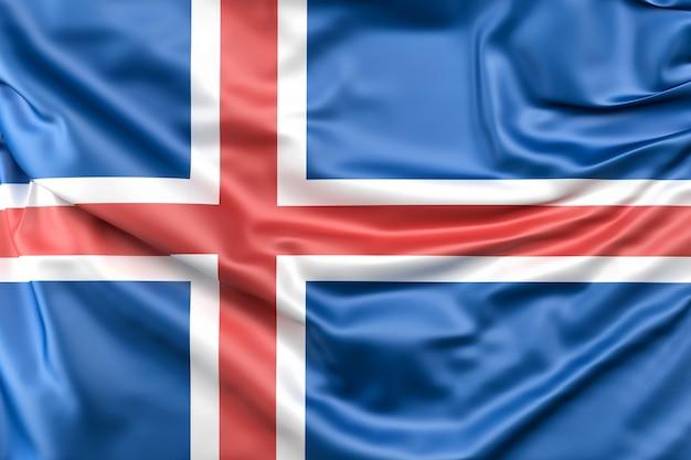 Flag of iceland Free Photo