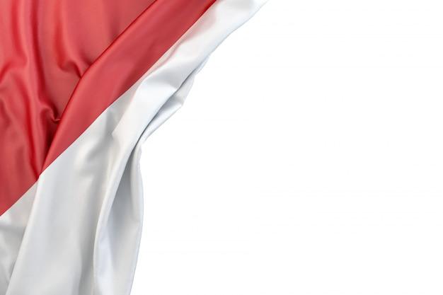 Flag of indonesia Premium Photo