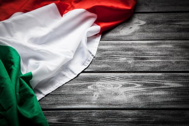 Flag of italy Premium Photo