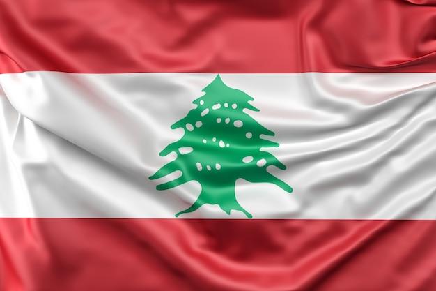 Flag of lebanon Free Photo
