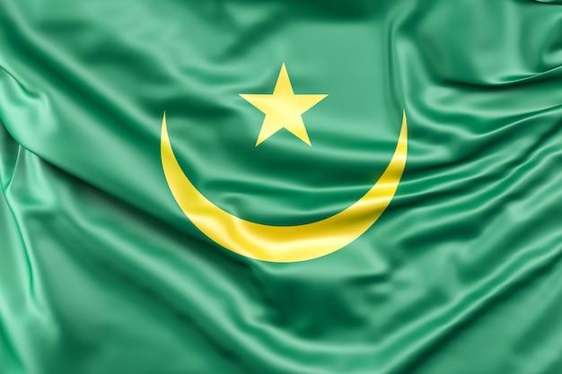 Bandiera della mauritania Foto Gratuite