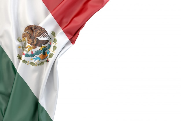 Flag of mexico Premium Photo