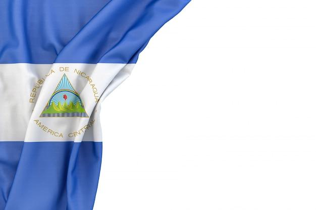ニカラグアの旗 Premium写真