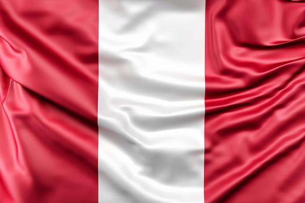 Flag of peru Free Photo