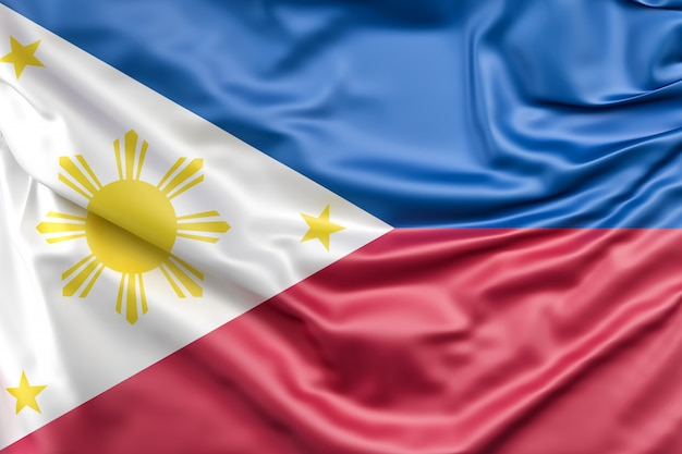 Flag of philippines Free Photo
