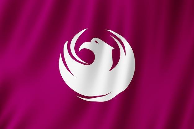 Flag of phoenix city, arizona (us) Premium Photo