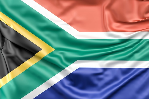 Flag of the republic of south africa Free Photo