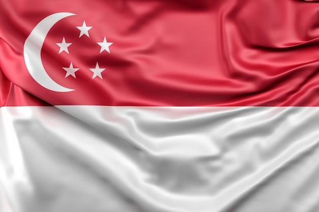 Flag of singapore Free Photo